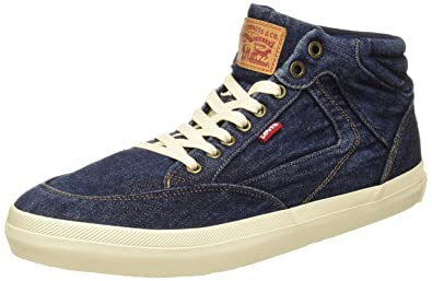 8810d77a Levi's Men's Bass Mid Sneakers: Buy Online at Low Prices in India ...