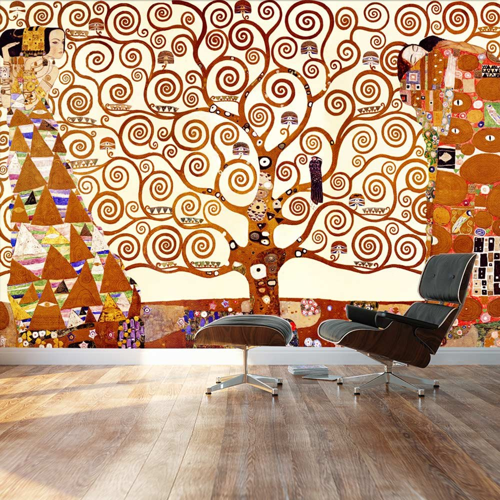 Large Wall Mural Classic Painting The Tree Of Life By Gustav Klimt Vinyl Wallpaper Removable Decorating