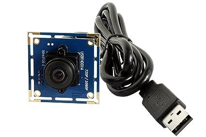 ELP 180 grados Gran Angular Fisheye Lentil 1080P PC Web USB Webcam cámaras de vigilancia módulo