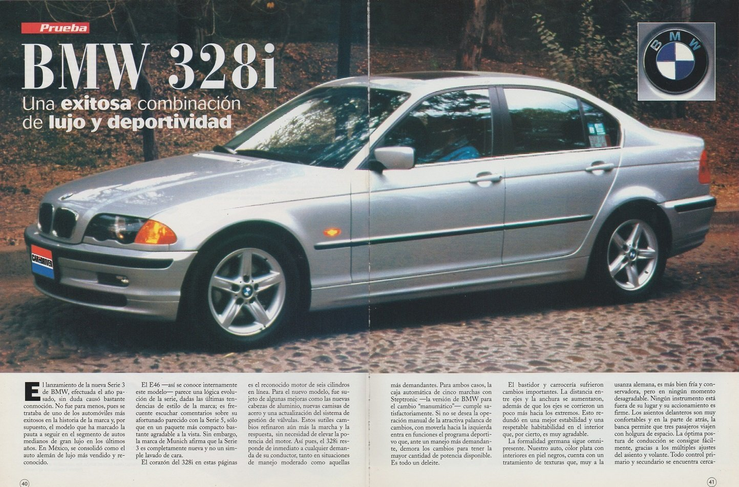 Amazon.com : 1999 BMW 328i SEDAN VINTAGE COLOR Road Test ...