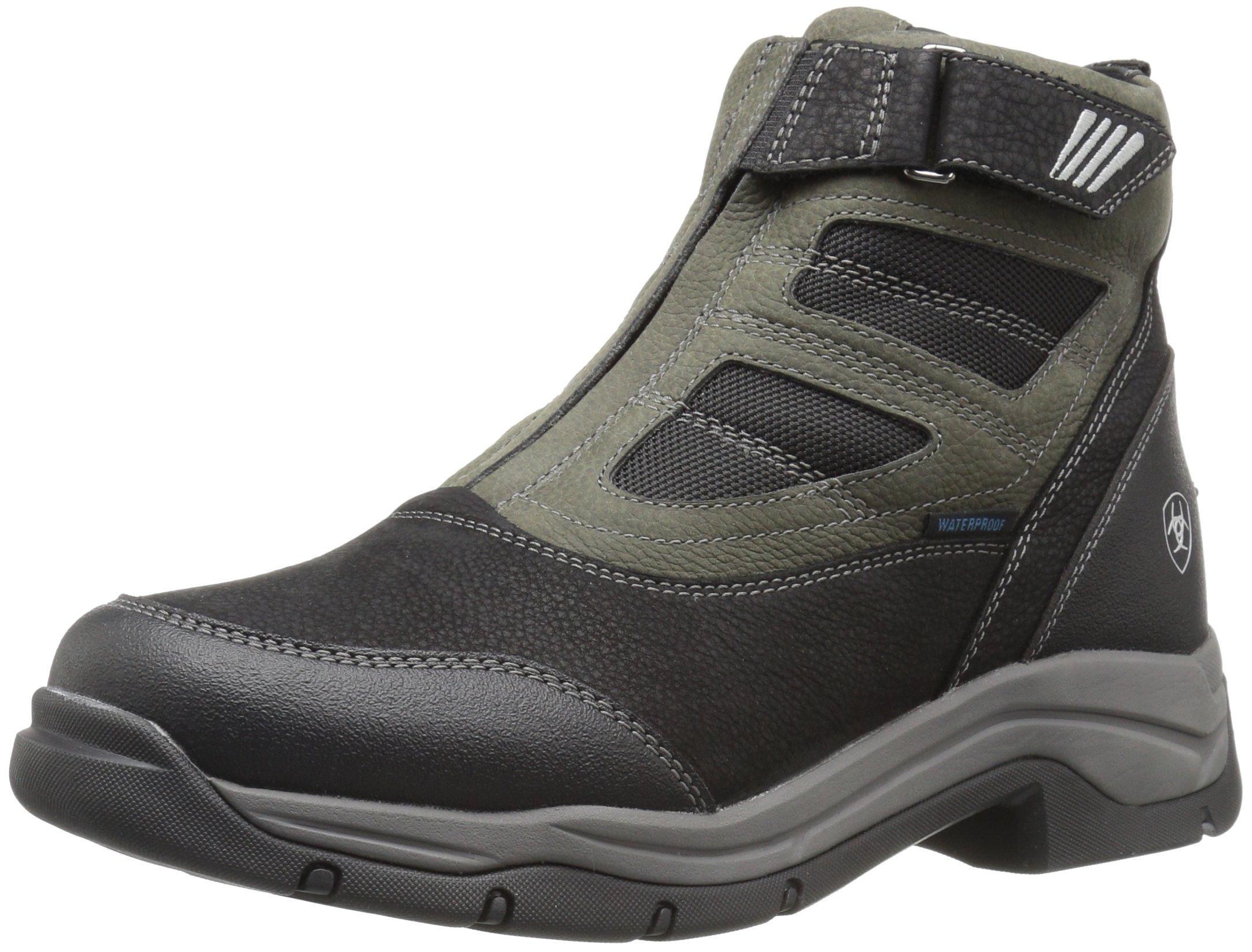 Ariat Women's Terrain Pro Zip H2O Work Boot, Black, 9 B US
