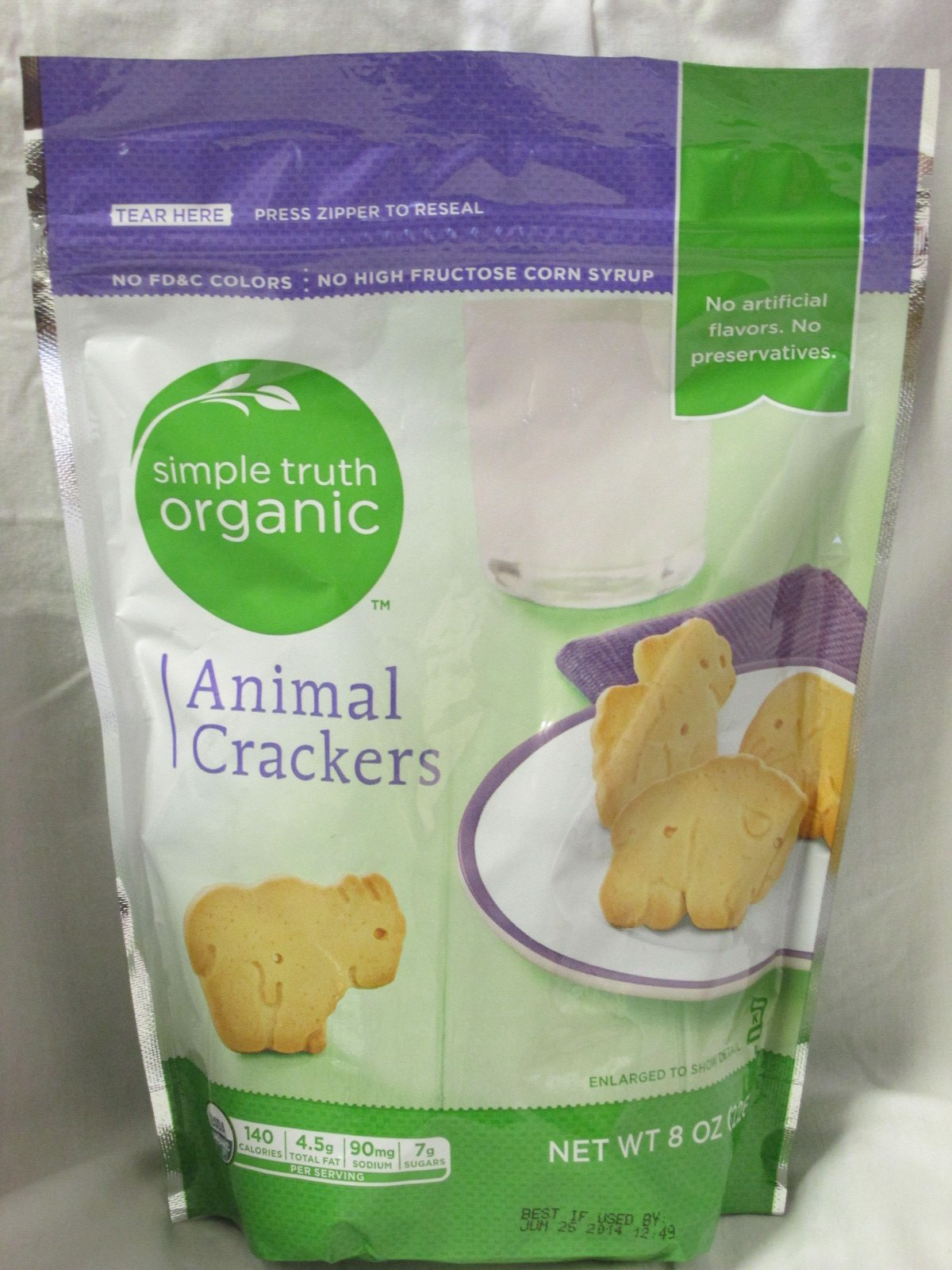 Simple Truth Organic Animal Crackers by Simple Truth