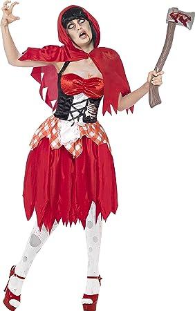 Carnaval de disfraces de Halloween Caperucita Roja cuento de hadas ...