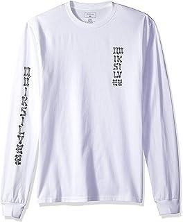 Quiksilver Mens Logo Long Sleeve Tee Shirt