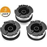 Replacement Spool, AF-100 Trimmer String, 30 Feet, Compatible with Black + Decker Models - 3 Pack -