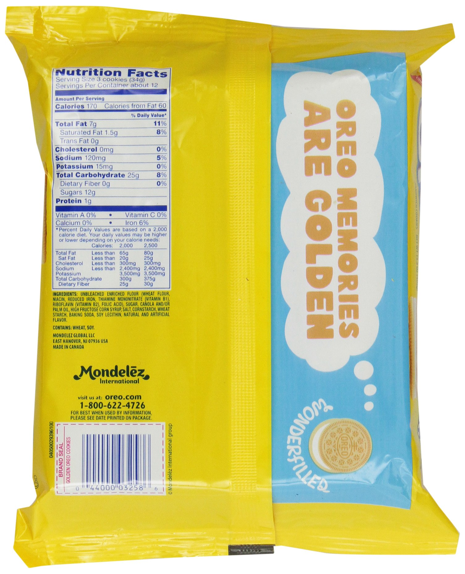 Oreo Golden Sandwich Cookies, 14.3 Ounce by Oreo (Image #4)