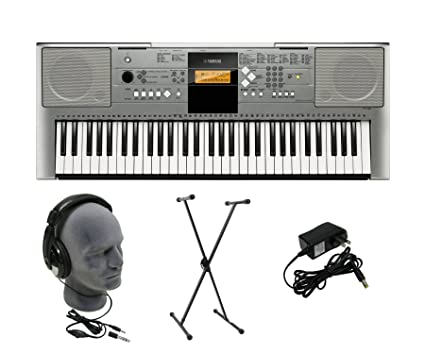 Yamaha YPT-330 Premium Keyboard Pack with Headphones, Power Supply, and Stand