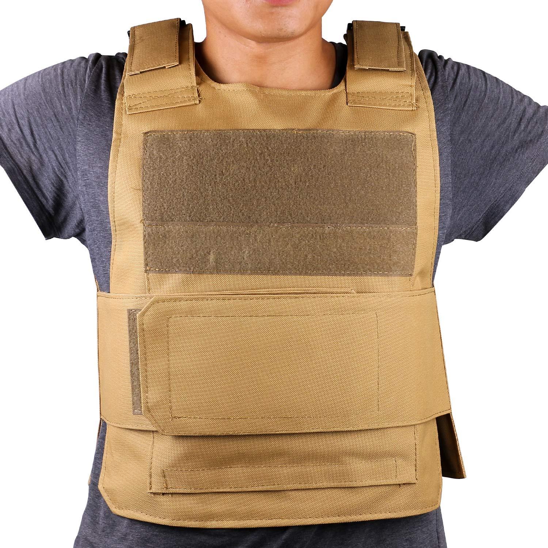 ThreeH Chaleco táctico de protección al aire libre Equipo de Gilet de Entrenamiento Militar por seguridad SA0401B