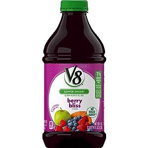 V8 Berry Bliss, 46 Fl Oz (Pack of 6)