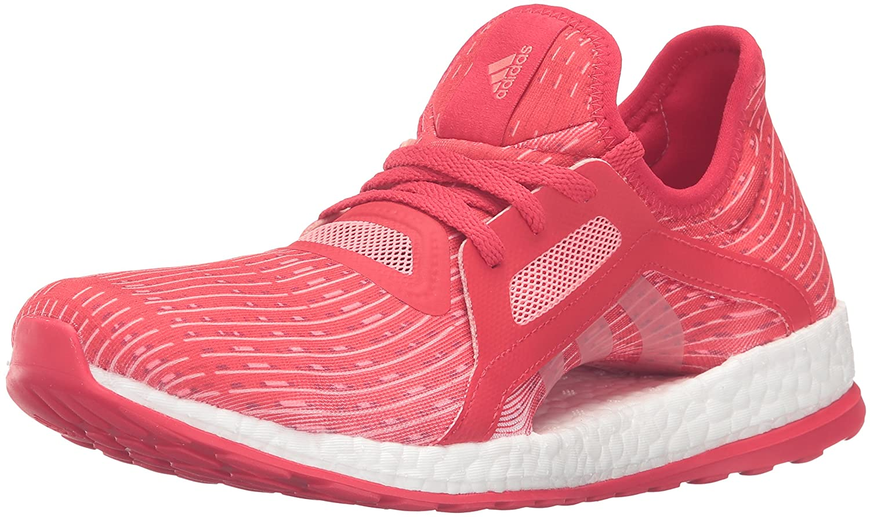 adidas Performance Women's Pureboost X Running Shoe B01FH5VE9S 7 B(M) US|Ray Red/Vapor Pink/White