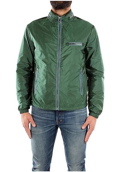 buy popular 4c426 49fc5 Prada 1327Q Giubbotto Verde Giubbotto Uomo Jacket Men ...