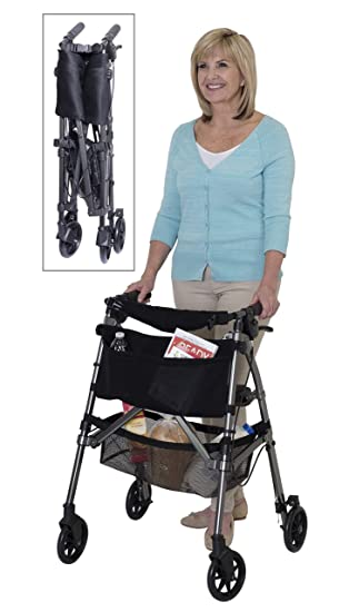 Amazon.com: Standers Ez - Andador plegable, 4350-BW, 1 ...