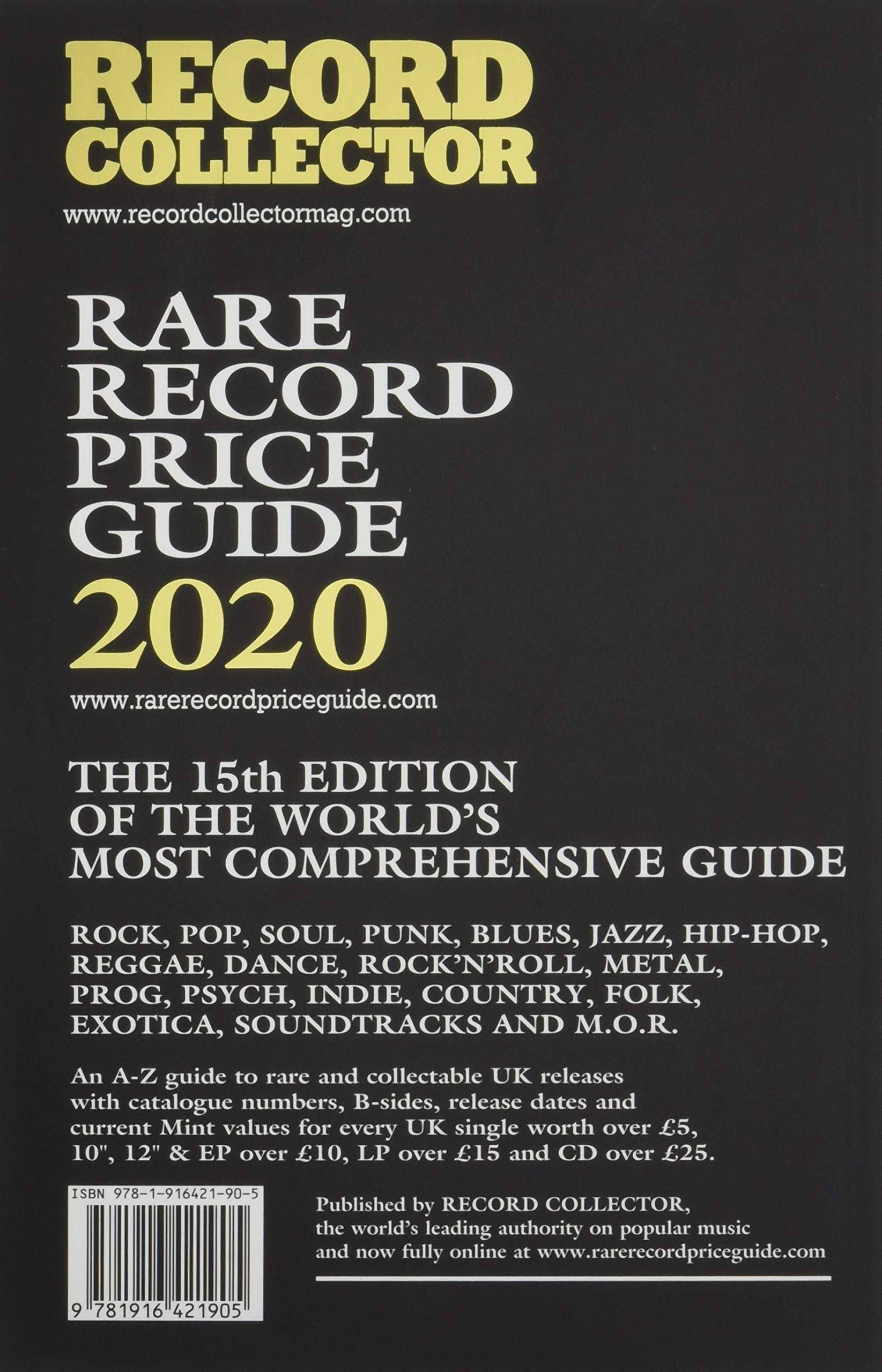 Rare Record Price Guide 2020: Amazon co uk: Ian Shirley