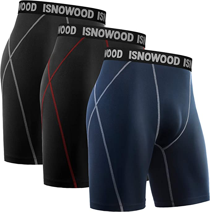 Details about  /Mens Sport Compression Base Layer Shorts Fitness Pants Elastic Tight Underwear
