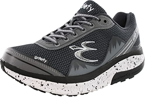 Gravity Defyer Proven Pain Relief Mens G-Defy Mighty Walk Shoes for Heel Pain Plantar Fasciitis Foot Pain