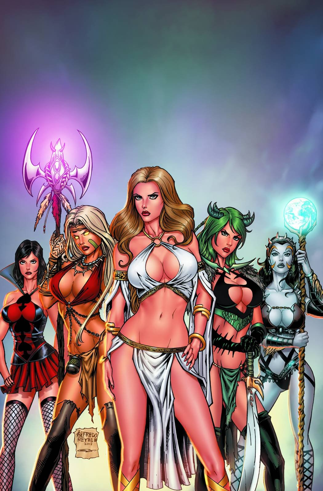Grimm Fairy Tales: Bad Girls (Grimm Fairy Tales Presents