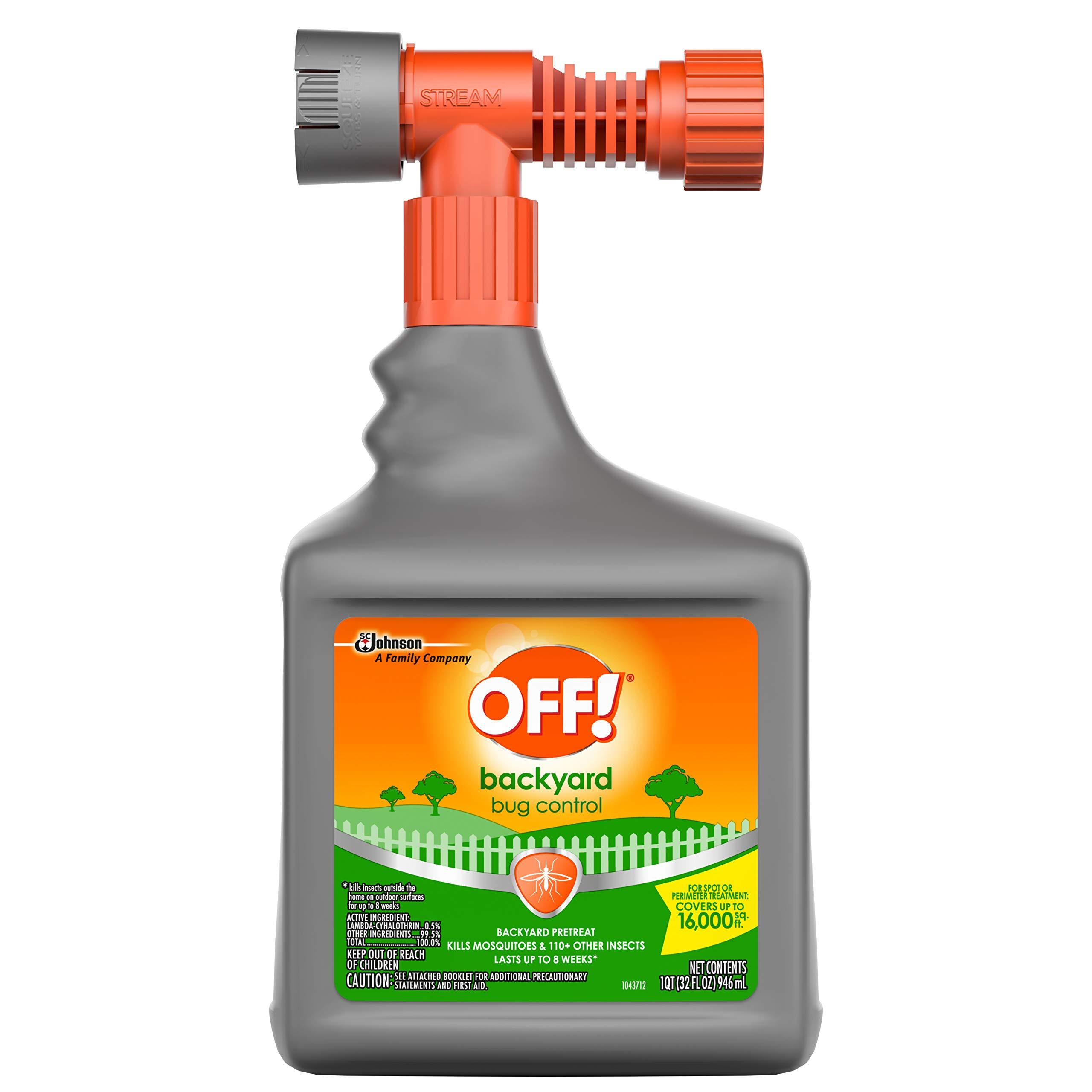 OFF! Bug Control Yard Pretreat, 32 OZ
