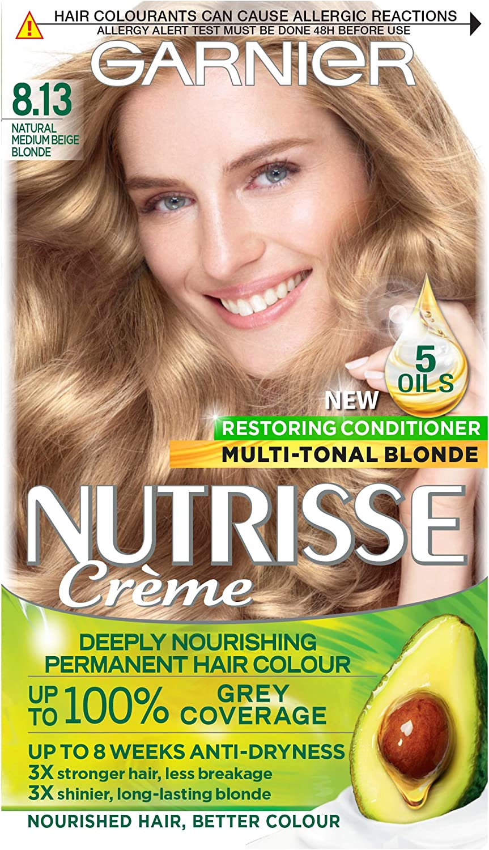 Garnier Nutrisse 8.13 - Tinte para el cabello permanente ...