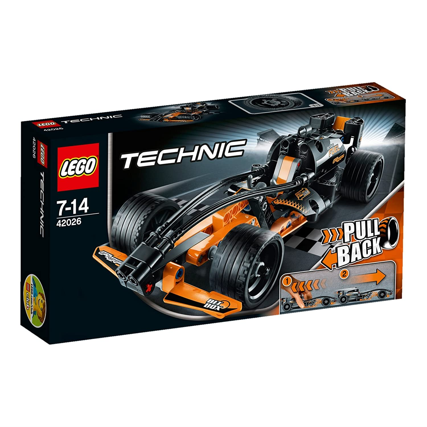 lego technic 42026 jeu de construction le bolide 736126403400. Black Bedroom Furniture Sets. Home Design Ideas