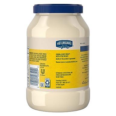 Mayonesa de Hellmanns Real: Amazon.com: Grocery & Gourmet Food