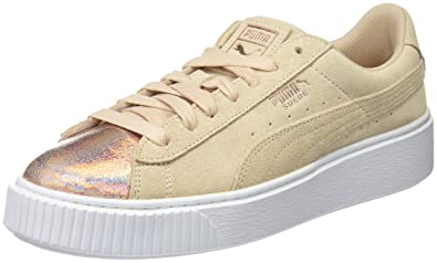 ec0afb994b7 Puma Women s Suede Platform Lunalux Low-Top Sneakers  Amazon.co.uk ...