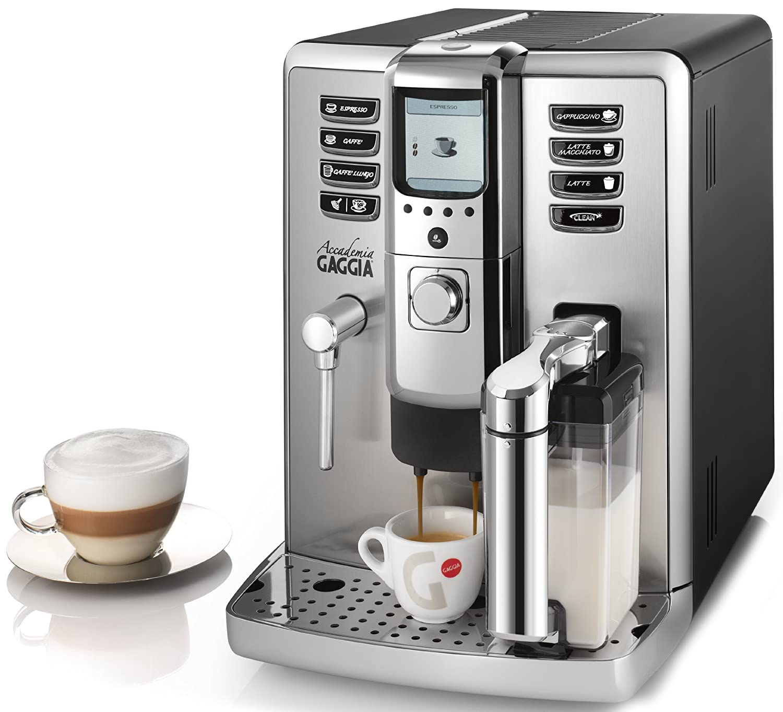 Gaggia RI9702/04 Independiente Totalmente automática Máquina espresso 1.6L Acero inoxidable - Cafetera (Independiente, Máquina espresso, 1,6 L, ...