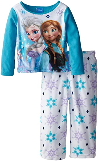 Disney Little Girlsu0027 Anna and Elsa Costume Knit 2 Piece Pajamas Multi ...  sc 1 st  Amazon.com & Amazon.com: Disney Little Girlsu0027 Anna and Elsa Costume Knit 2 Piece ...