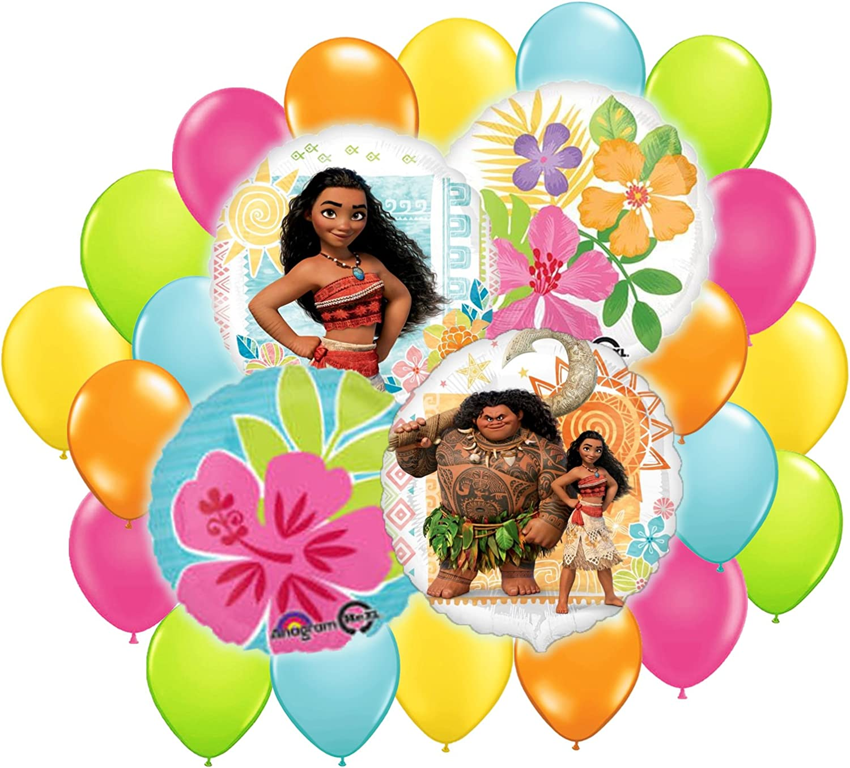 Moana Birthday Party Balloon Decoration Bundle