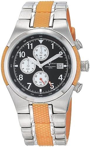Paul Versan Reloj Análogo clásico para Hombre de Cuarzo con Correa en Caucho PV4623: Amazon.es: Relojes