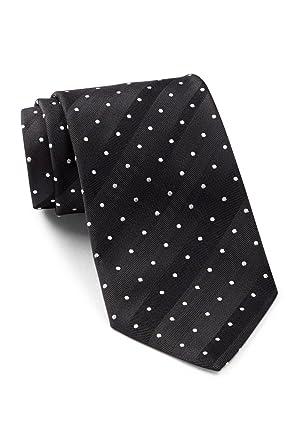 b523af7751 Boss Hugo Boss Diagonal Pin Dotted Pattern Italian Silk Tie, Black ...