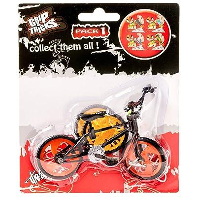 Grip & Tricks - Finger BMX Freestyle - Mini Bici Freestyle Pack1: Juguetes y juegos