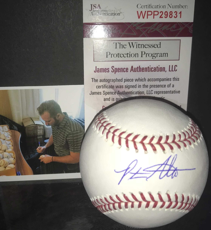 Peter Alonso New York Mets Autographed Signed MLB Baseball JSA WITNESS COA