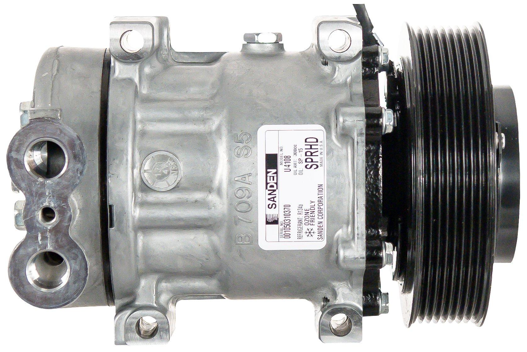 AirSource 5398 A/C Compressor (Sanden)