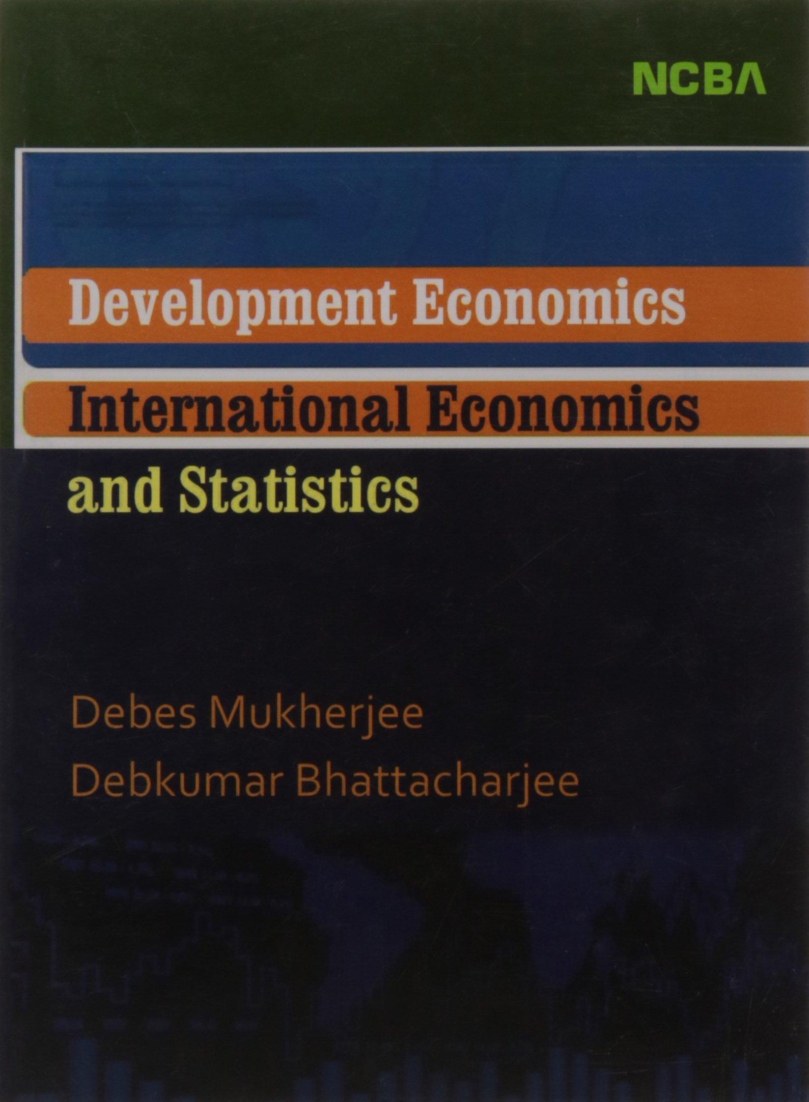 Development Economics International Economics and Statistics PDF
