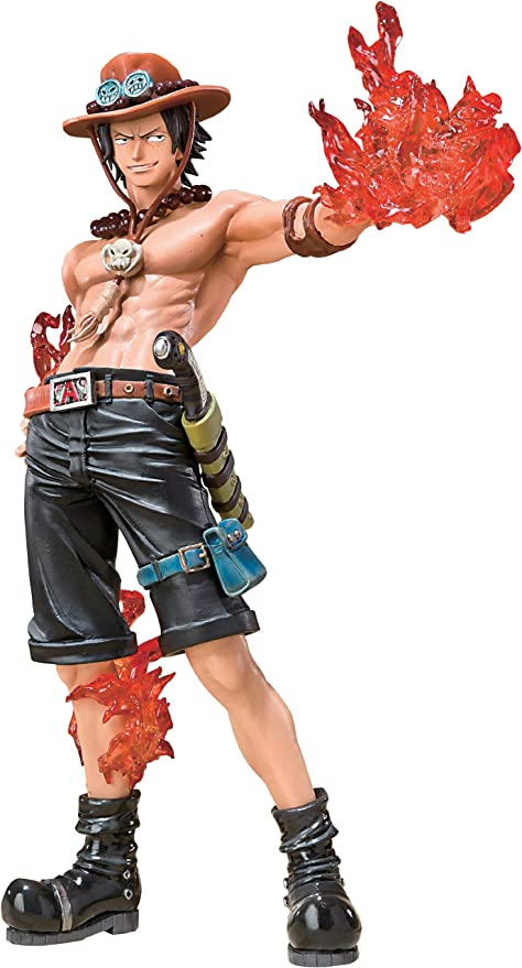 ONE PIECE BANDAI FIGUARTS ZERO PORTGAS D ACE COMMANDER OF THE 2ND DIVISION LUFFY