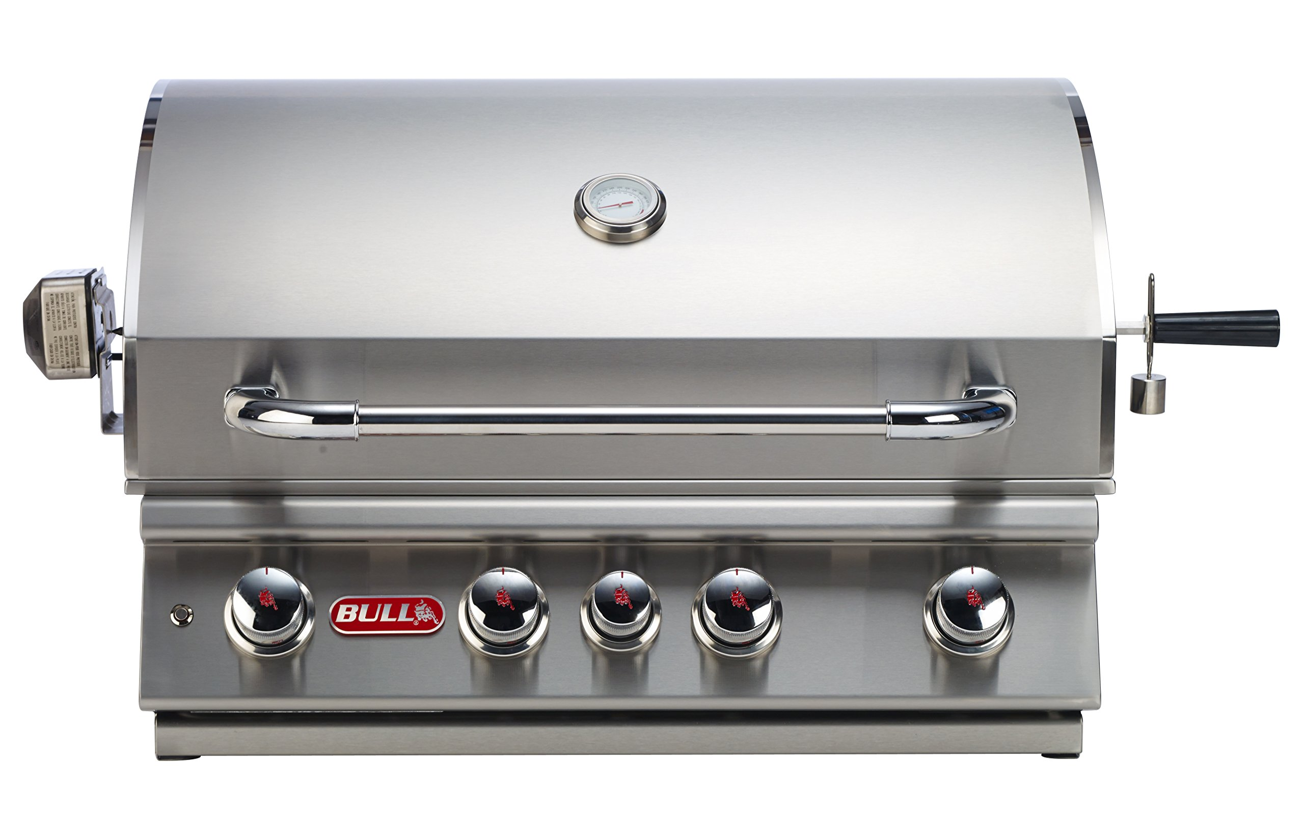 Bull Outdoor Products BBQ 47629 Angus 75,000 BTU Grill Head, Natural Gas by Bull Outdoor Products