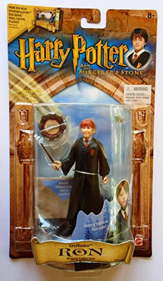 Harry Potter and the Sorcerers Stone - Gryffindor Wizard Collection - Ron by Mattel