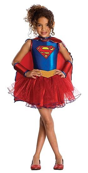 6e647bf419468 Déguisement Supergirl - Paillettes Fille - 5 à 7 Ans  Amazon.fr ...