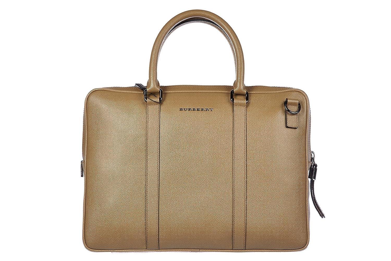 0e3b78adbcda Burberry briefcase attaché case laptop pc bag leather london newburg camel  brown  Amazon.co.uk  Shoes   Bags