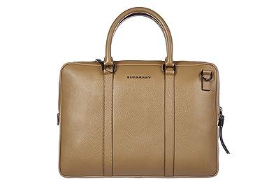 6c16e194be54 Image Unavailable. Image not available for. Colour  Burberry briefcase  attaché case laptop pc bag leather london newburg ...