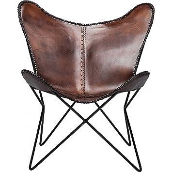 KARE Vintage Sessel Butterfly Eco Leder: Amazon.de: Küche & Haushalt
