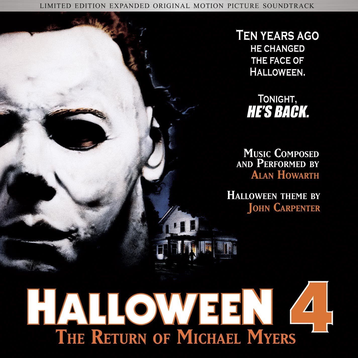 Alan Howarth, John Carpenter - Halloween 4-The Return of Michael ...