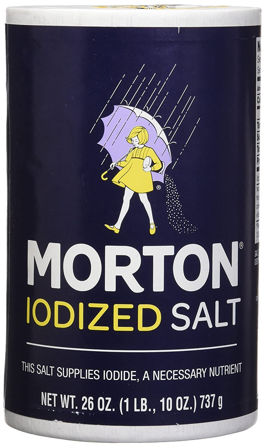 Morton Iodized Salt, 26 oz, Pack of 2 : Grocery & Gourmet Food