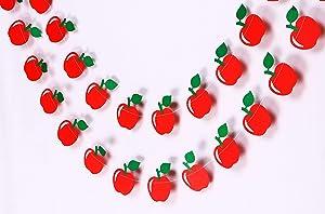 Apple Garland - Birthday Decorations,Party Decorations,Party décor,Creative Decoration