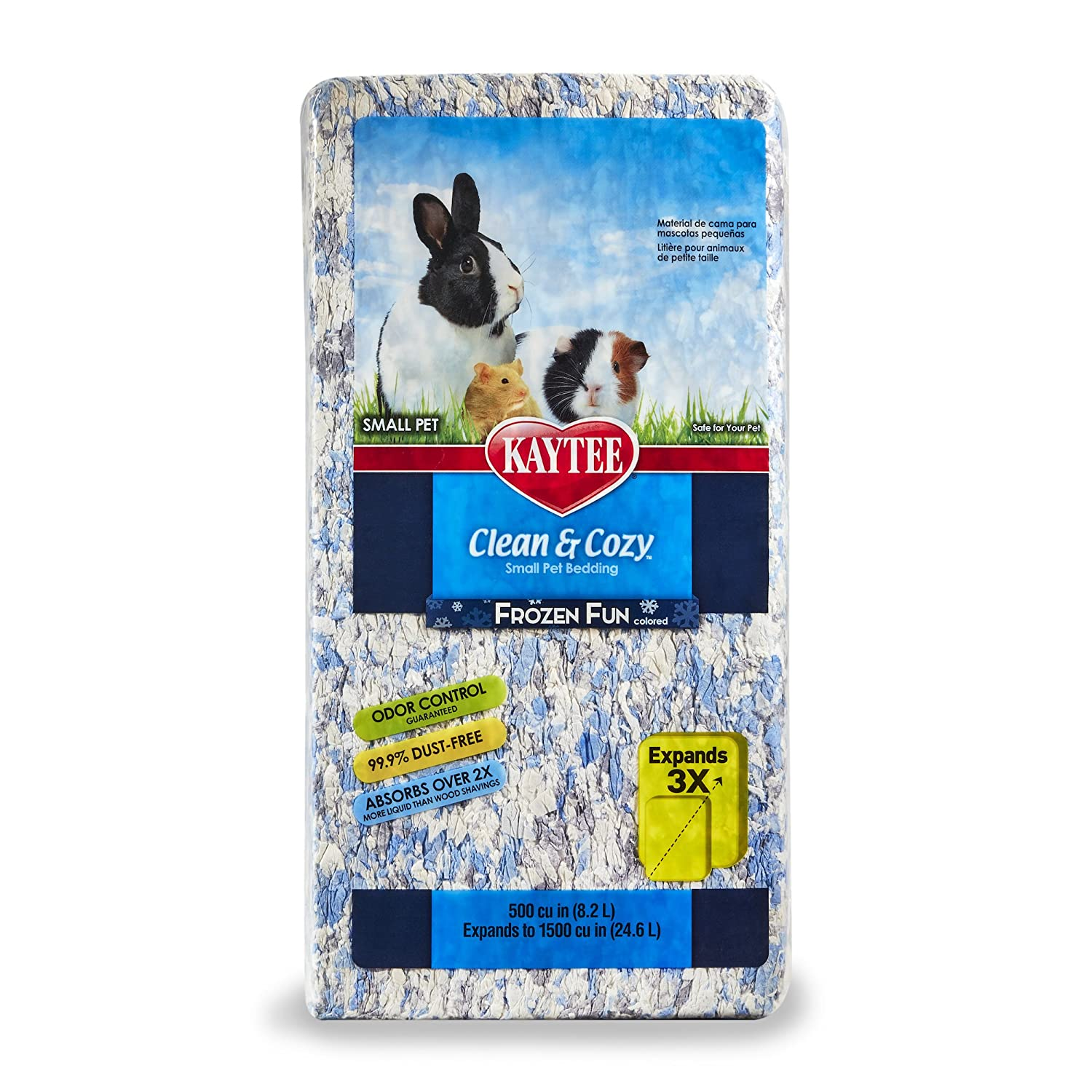 Apple Orchard Kaytee Clean /& Cozy Super Absorbent Paper Bedding 24.6 Litre