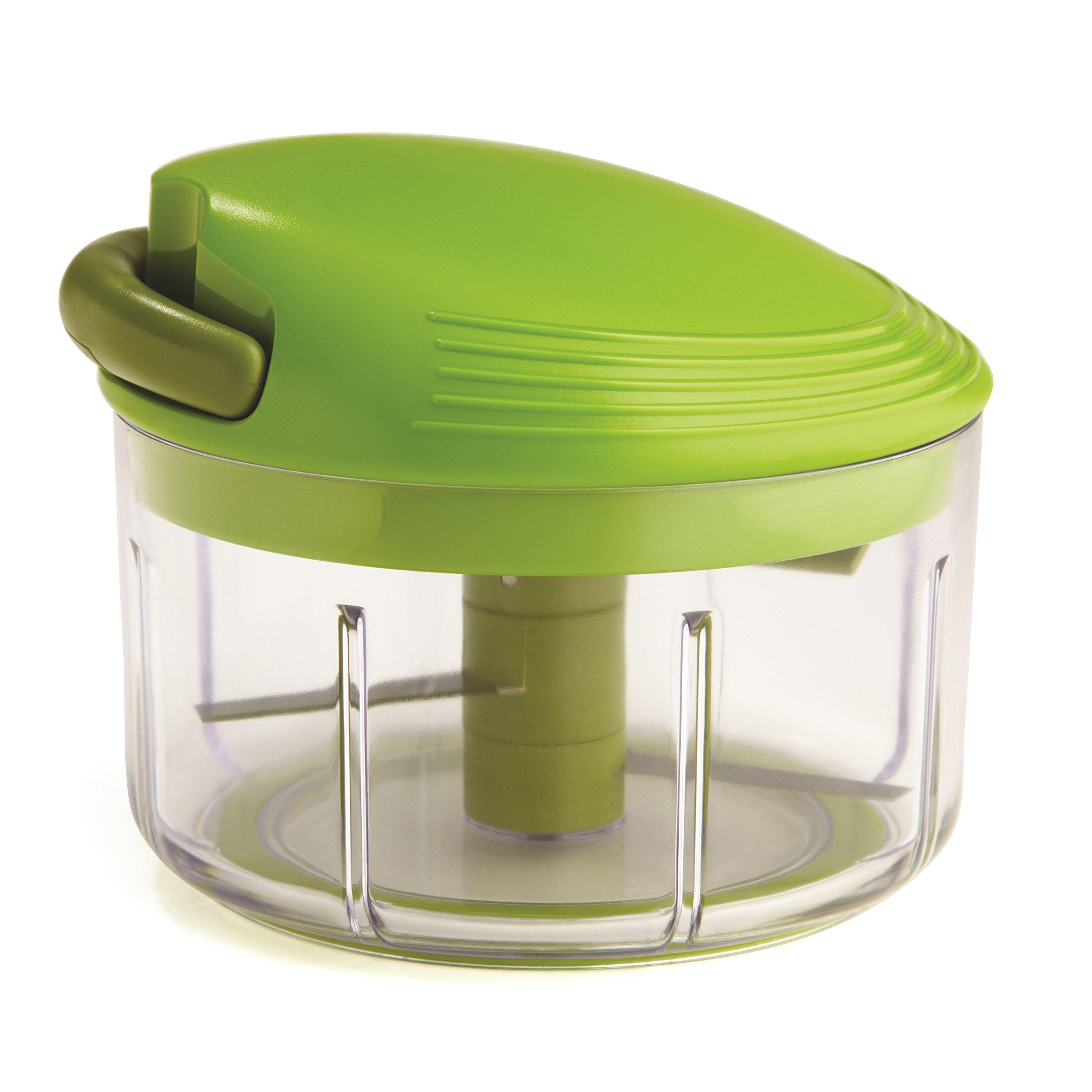 Kuhn Rikon Pull Chop, 2 Cup Food Chopper, Green by Kuhn Rikon