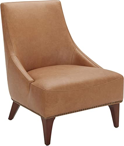 Amazon Brand Stone Beam Shorebrook Deep Leather Accent Chair