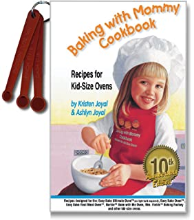 Amazon easy bake real meal oven toys games baking with mommy cookbook recipes for kid size ovens 10th anniversary edition with forumfinder Images