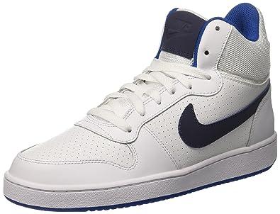 Nike Herren Court Borough Mid Gymnastikschuhe, Elfenbein (White Thunder  Blue Blue Jay 358ad40751