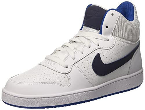 Nike Court Borough Lo(GS), Scarpe da Basket Uomo, Bianco (White/Black 101), 40 EU